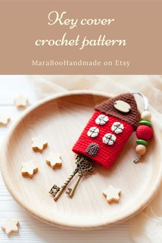 Crochet Pincushion, Crochet Wallet, Crochet Keychain Pattern, Crochet Cat Pattern, Crochet Flower Patterns, Crochet Patterns For Beginners, Crochet Basics, Crochet Gifts, Crochet Dolls