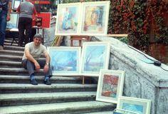 Paolo Salvati - esposizione del 1973 - XVI Rassegna di Arti Plastiche e Figurative - Trinità dei Monti - Roma.