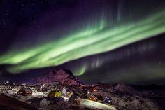 Sisimiut – Arctic Circle Region Greenland. Sisimiut is 40 km north of the Arctic Circle.