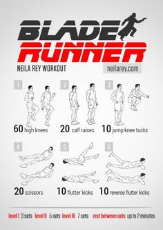 Blade Runner Workout