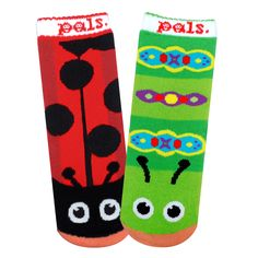 Pals Socks come as unlikely pairs of friends, they're fun reminders that there is so much more to friendship than what we see on the surface.Pals reminds us that the coolest way to be is to be yourself, and despite …