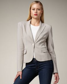 One-Button Jacket by MICHAEL KORS at Last Call by Neiman Marcus.