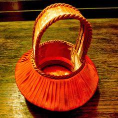 Pasmanteria Honorata: Dekoracyjny koszyk - krok po kroku