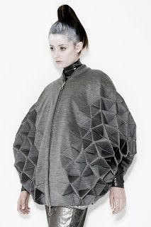 Rachel Poulter. 2010. 3D Geometric Fashion