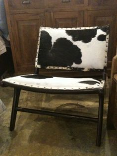 our next project...update with cowhide...this is good inspiration