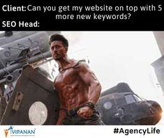SEO vaalo ko challenge mat dena! #agencylife