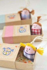DIY Christmas Gifts for Kids - Homemade Christmas Presents for Children and Christmas Crafts for Kids | Toys,  Dress Up Clothes, Dolls and Fun Games |  Step by Step tutorials and instructions for cool gifts to make for boys and girls |  Miniature Dolls with Beds  |  http://diyjoy.com/diy-christmas-gifts-for-kids