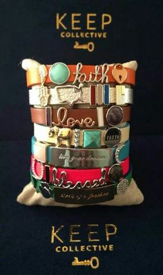 Let me help you design your one of a kind bracelet!! https://www.keep-collective.com/with/Amberburson