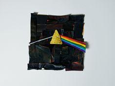 Dark Side of the Doritos by Laser Bread, via Flickr  (made entirely of Dortio bags and single Dorito)