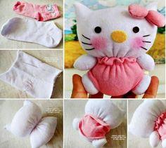 Hello+Kitty+Sock+Animal