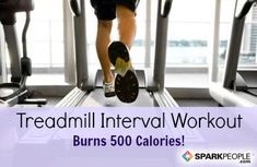 500 Calorie Treadmill Workout- Go through and read the post! This gives you a lot of tips for any fitness level and weight to get the most out of a treadmill workout. Treadmill Workouts, Fun Workouts, Exercise Cardio, Physical Exercise, Workout Exercises, Running Workouts, Running Gif, Treadmill Running, Running Songs