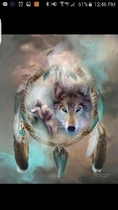 Kinda want this for my next tatt.... momma wold and make the other two wolf's babies !!