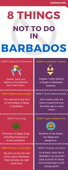 8 Things Not To Do In Barbados