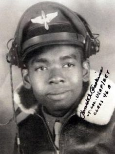 Harold K. Hoskins, Sr. (1927-2012) was an American pilot and Tuskegee Airman who was awarded the Congressional Gold Medal in 2007. In 1945, he joined the U.S. Army at the age of 18 and learned to fly at Alabama's Tuskegee Air Field. In 1971, he retired as a U.S. Air Force lieutenant colonel after logging 9500 flight hours. Hoskins later became assistant vice president of student affairs at California State University at Hayward.