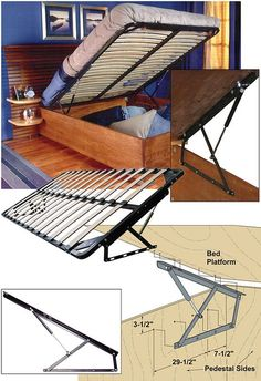 diy platform bed twin * diy platform bed - diy platform bed with storage - diy platform bed queen - diy platform bed king - diy platform bed full - diy platform bed twin - diy platform bed frame - diy platform bed with storage queen Bed Frame With Storage, Diy Bed Frame, Bed Storage, Diy Queen Storage Bed Plans, Shop Storage, Bedroom Storage, Twin Platform Bed Frame, Bed Platform, Floating Platform