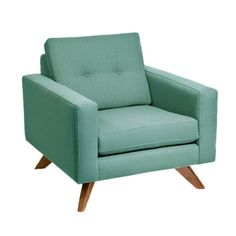 I pinned this Luna Arm Chair in Laguna from the Loni M Designs event at Joss and Main!