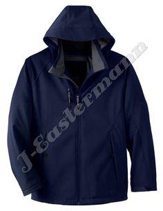 Mens Hooded Softshell Jackets JEI-6010 - J-Eastermann International