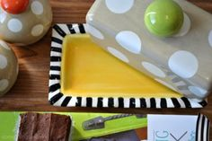 butter dish by @Coton Colors | #kitchen