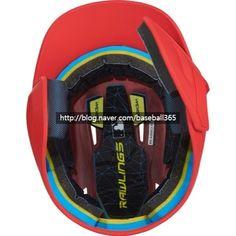 [열혈야구 야구용품] 롤링스 검투사 일체형 헬멧 출시~~더 안전하게~~ Rawling Mach EXT Flap Batting Helmet : 네이버 블로그 Baseball Helmet, Baby Car Seats