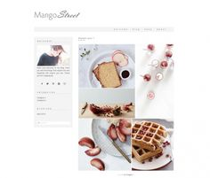 "#NewArrivals More gorgeous #WordpressThemes for your next online project! ""Mango Street"" by @lightmorgano"