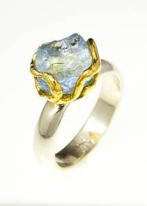 Natural Nested Aquamarine Ring | | Tula GemsTula Gems