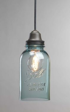 DIY- Bell Jar Light Tutorial ! Love This !