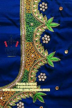 Saree Tassels Designs, Pattu Saree Blouse Designs, Blouse Designs Silk, Designer Blouse Patterns, Bridal Blouse Designs, Hand Work Blouse Design, Simple Blouse Designs, Stylish Blouse Design, Peacock Embroidery Designs
