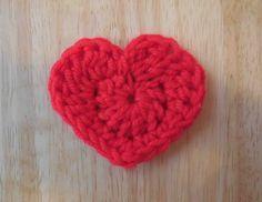 Easy Crochet Heart Pattern The Easiest Heart Crochet Pattern Ever Easy Crochet Heart Pattern Crochet Hearts Applique Free Crochet Pattern Goldenlucycrafts. Easy Crochet Heart Pattern The Easiest Heart Crochet Pattern. Crochet Puff Flower, Crochet Flower Patterns, Crochet Flowers, Knitting Patterns, Crochet Hearts, Crochet Ideas, Rose Patterns, Crochet Appliques, Crochet Tutorials