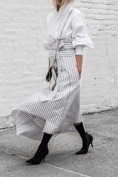 Best Casual Fall Outfits Part 20 Casual Fall Outfits, Casual Summer Dresses, Dress Casual, Retro Fashion, Love Fashion, Style Fashion, Stripes Fashion, Steampunk Fashion, Gothic Fashion