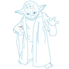 How to Draw Yoda | Fun Drawing Lessons for Kids and Adults (Scheduled via TrafficWonker.com)
