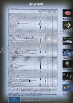 cool MY900 Impreza WRX Limited Brochure