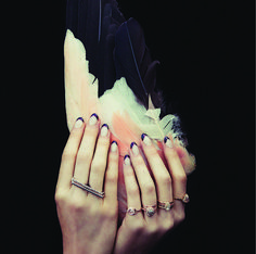 the nails. love