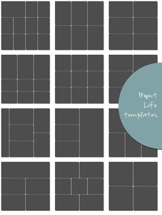 Free Project Life Page Protector Templates