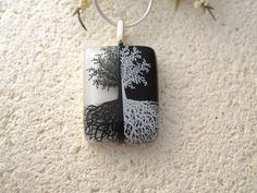 Fused Glass Jewelry  Tree of Life  Fused Glass by ccvalenzo