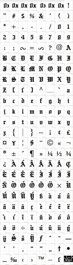 English Towne Font · 1001 Fonts