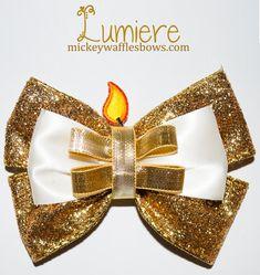 Arco del pelo de Lumiere por MickeyWaffles en Etsy