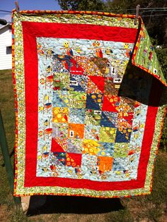 Another Moda Charm Pack Quilt.