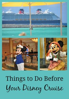 Things to Do Before
