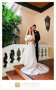 Limelight Photography, www.stepintothelimelight.com, Wedding, Avila Golf and Country Club, Florida, Bride, Wedding Dress, White, Groom, Black, Rose, Bouquet, Portrait