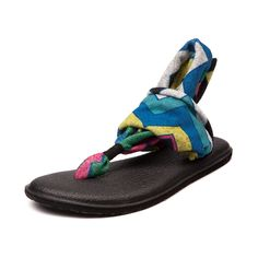 Womens Sanuk Yoga Sling Zig Zag Sandal I have a pair of these:) They are the best sandles ever!