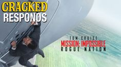 So come watch the Mission Impossible trailer with us. Mission Impossible Trailer, Rogue Nation, London Films, Red Carpet Event, Rogues, Humor, Youtube, Movie Posters, Trailers