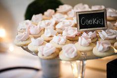 Light pink cookies