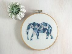 Stitcharama elephant embroidery pattern