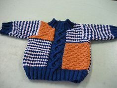 Ravelry: Cables and Checks Set: Pullover pattern by Patons