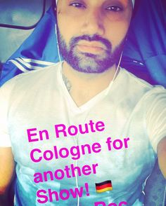 En Route #Cologne #Germany for another #Wedding   #DjTripleS #PartyRoc #DjLife #DjLifeStyle #PartyLife #InternationalDJ #AsianWeddingDJ #Worldwide #Blessed #SukhSapra