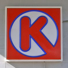 Corporate assimilation of the letter K Special Letters, Picture Letters, Letter J, Typography Inspiration, Letters And Numbers, Chicago Cubs Logo, Alphabet Soup, Alphabet Letters, Signage