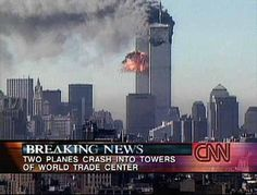 I still get a lump in my throat when I see footage from that horrible day. 9/11/01 We will never forget.