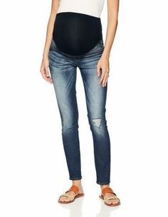 c89e488c5f65f Signature by Levi's Gold Label Women's Maternity Skinny Jeans Dark Ivy  X-Large #fashion