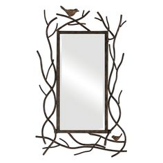 Bird Mirror - 14W x 23H in. | from hayneedle.com