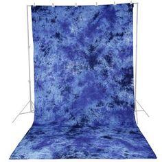Fondo para estudio en tela de 2,8m x 5,8m (color Azul oscuro) -